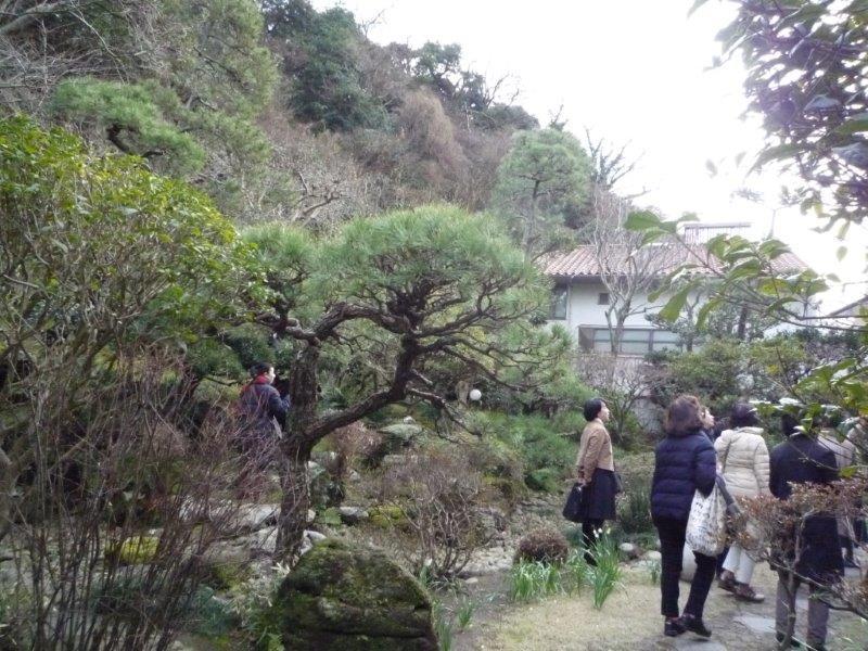 麻原美子邸:庭
