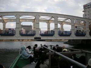 豊海橋・隅田川へ戻る