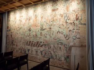 写真⑦ 敦煌壁画原寸大復元図