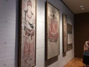 写真⑪ 法隆寺金堂壁画(3階東側ギャラリー)