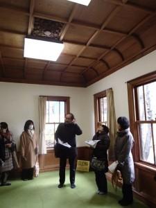 1階洋間〜戦前の典型的な洋室の造り
